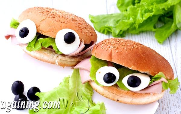 Фото - бутерброди для дітей