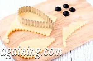 Фото - формочкой для печива вирізаємо сир