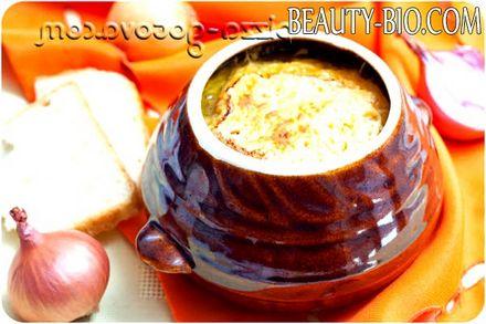 Фото - цибулевий суп по французьки рецепт фото