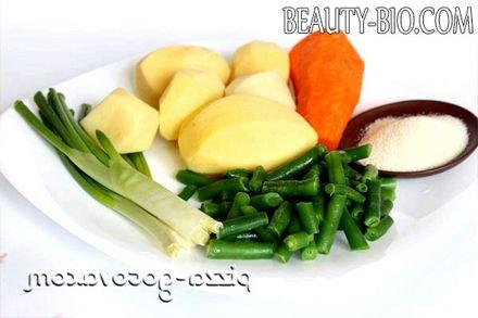 Фото - Інгредієнти для дієтичного супу