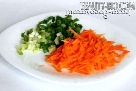 Фото - нарізка морквини