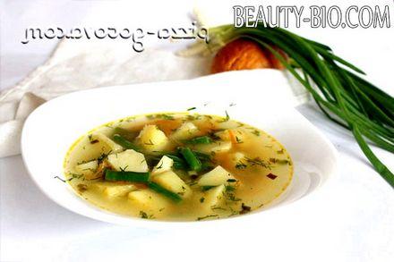 Фото - дієтичний овочевий суп