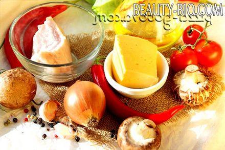 Фото - Інгредієнти для грибів