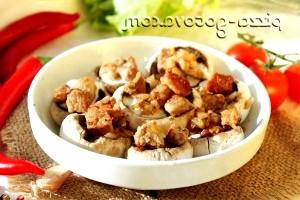 Фото - додавати м'ясо з цибулею