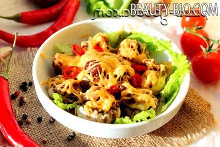 Фото - запечені гриби в духовці рецепт з фото