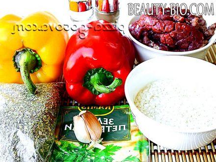Фото - Інгредієнти для приготування перцю