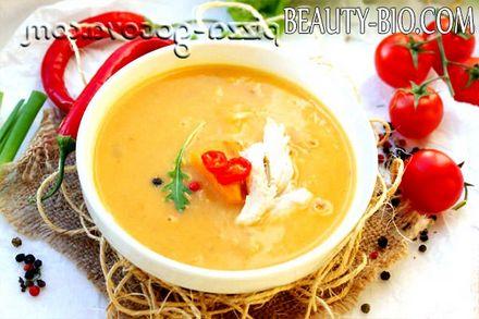 Фото - суп пюре з гарбуза рецепт фото