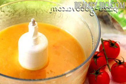 Фото - овочевий суп перетерти в блендері