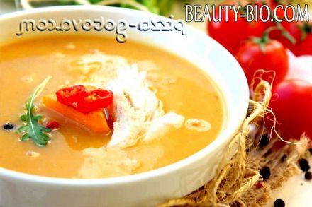Фото - Гарбузовий суп рецепт фото