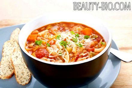 Фото - Італійський суп Мінестроне