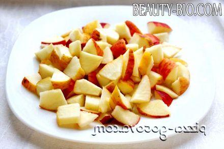 Фото - Нарізаємо яблука