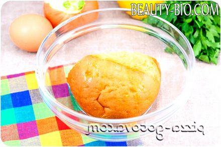 Фото - замочуємо хліб