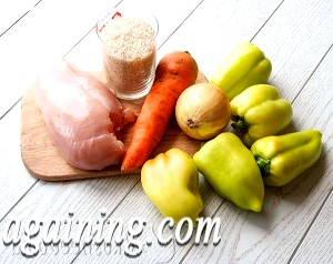 Фото - інгредієнти для фаршированого перцю