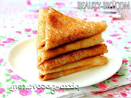 Фото - тісто для млинців рецепт фото