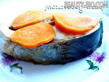Фото - запечений тунець в духовці фото