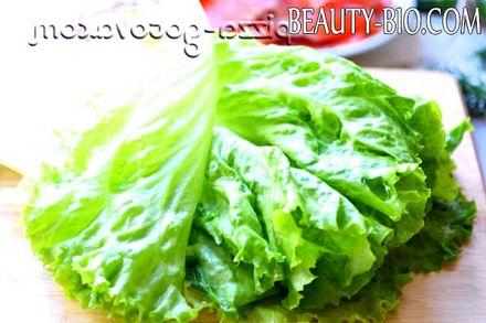 Фото - моєму листя салату