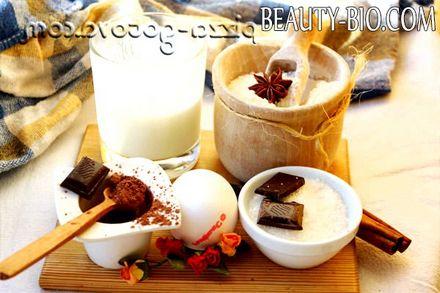 Фото - інгредієнти для кексу на кефірі