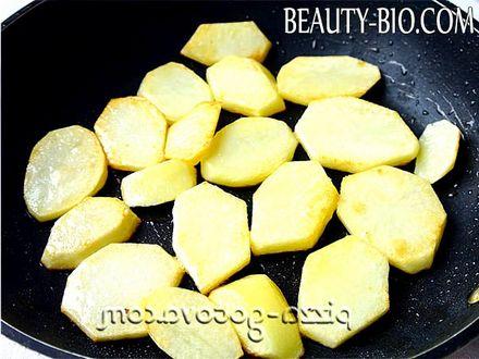 Фото - нарізати картоплю