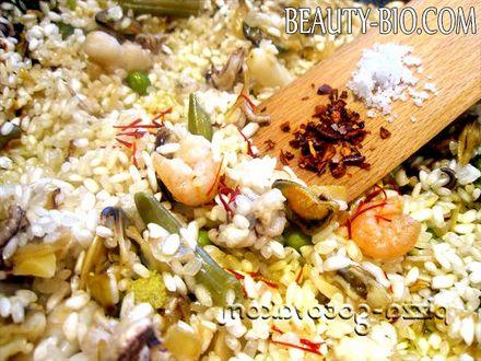 Фото - додаємо рис сіль паприку