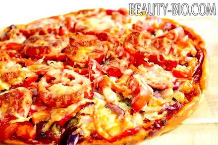 Фото - піца на кефірі, фото