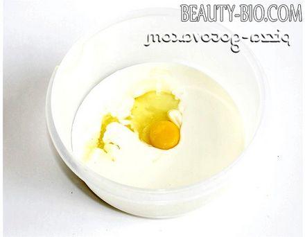 Фото - кефір з яйцем