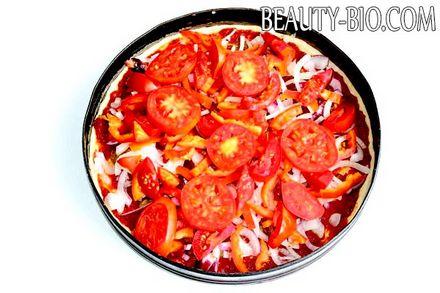 Фото - розкладаємо помідори