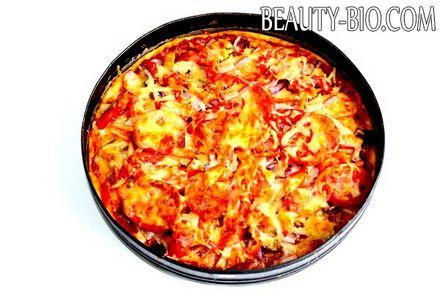 Фото - піца з овочами