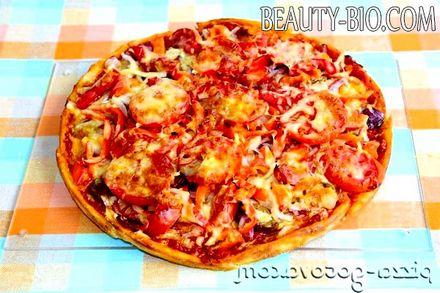 Фото - смачна піца на кефірі