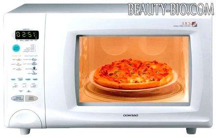 Фото - піца в мікрохвильовці
