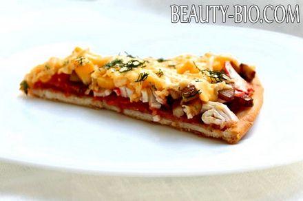 Фото - смачна піца з салямі