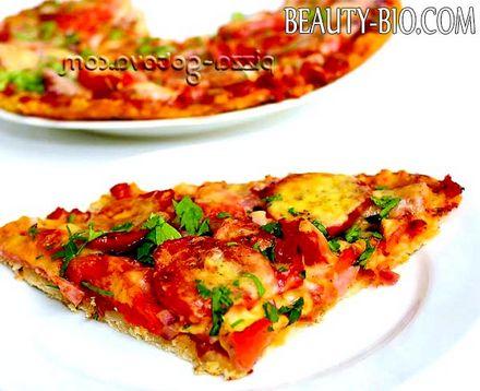 Фото - Піца з шинкою і сиром, фото