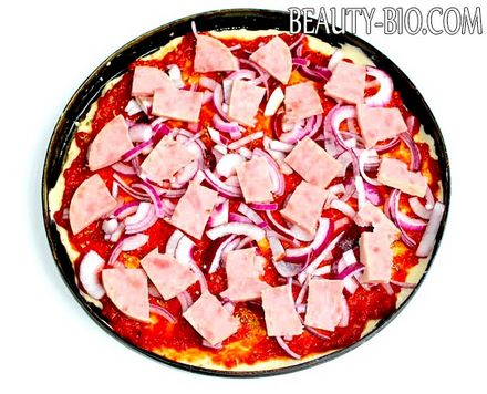 Фото - піца c шинкою
