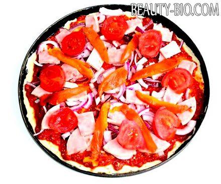 Фото - Піца на кефірі «Венеція»