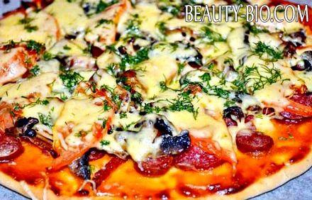 Фото - Простий рецепт піци
