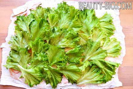 Фото - листя салату