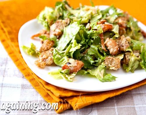 Фото - салат цезар рецепт з куркою