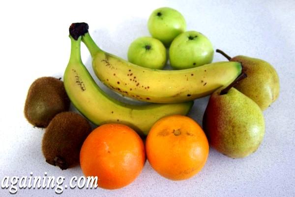 Фото - фрукти на салат