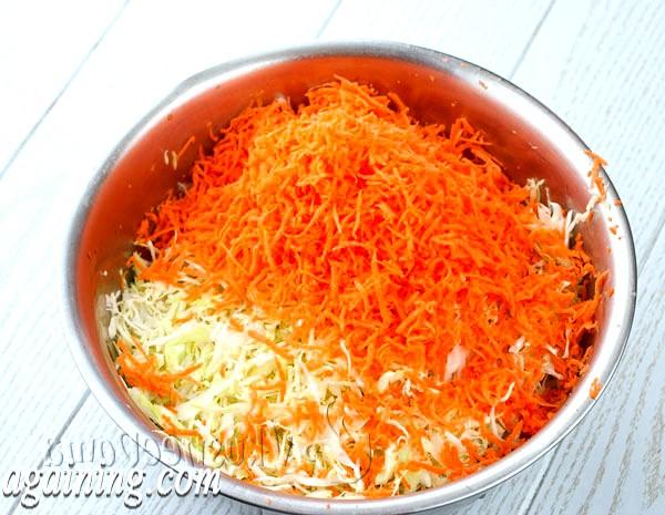 Фото - дрібно натерта морква