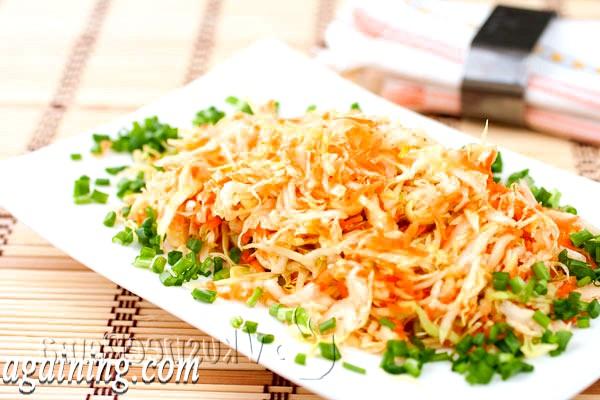 Фото - салат з японським соусом