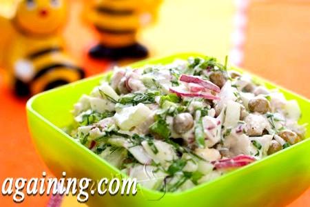 Фото - салат весняний
