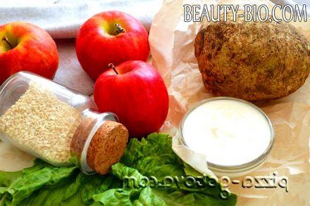 Фото - salat iz seldereya s yablokom (2)