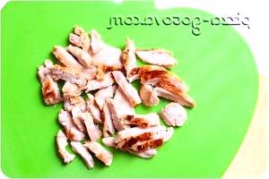 Фото - м'ясо ріжемо смужками