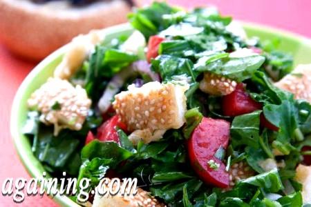 Фото - салат з руколою