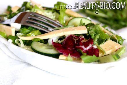 Фото - смачний салат з руколою