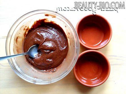 Фото - шоколадні кекси в мікрохвильовці