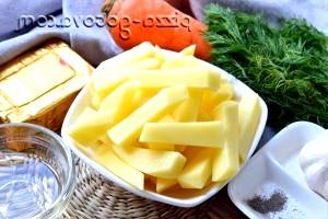 Фото - нарізаємо картошек соломкою