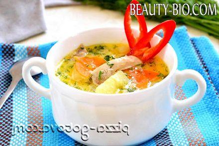 Фото - суп з куркою