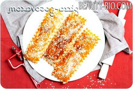 Фото - слойки з листкового тіста з сиром фото