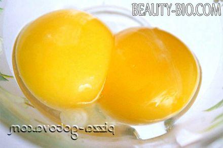 Фото - яєчні жовтки