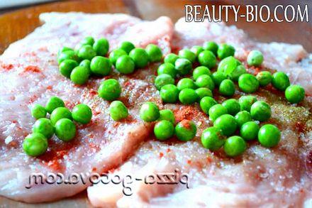 Фото - розсипаємо зелений горошок